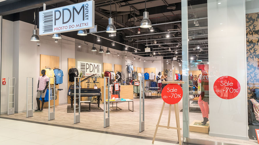 PDM outlet