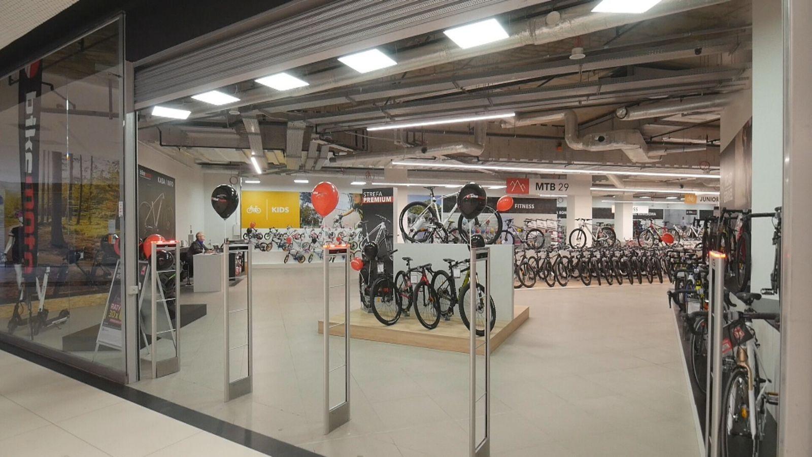 BIKE MOTO – Sieć salonów rowerowo–motoryzacyjnych